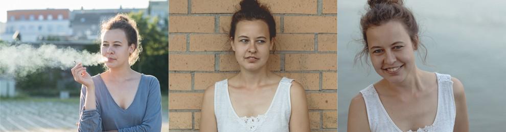 Castingfotos mit der Schaupielerin Julia Carina Wachsmann